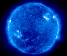 soho picture of the sun taken at 171Å